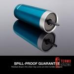 Термостакан из нержавеющей стали герметичный с трубочкой Contigo Luxe 532 мл Черный - Уценка