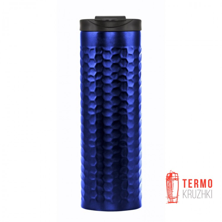 Термокружка Bergamo Luigi 450 мл синяя
