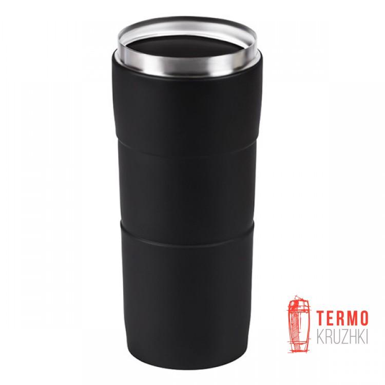 Термокружка Bergamo Verona 400 мл черная