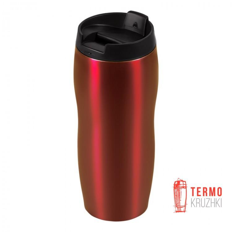 Термокружка Bergamo Classico 400 мл красная