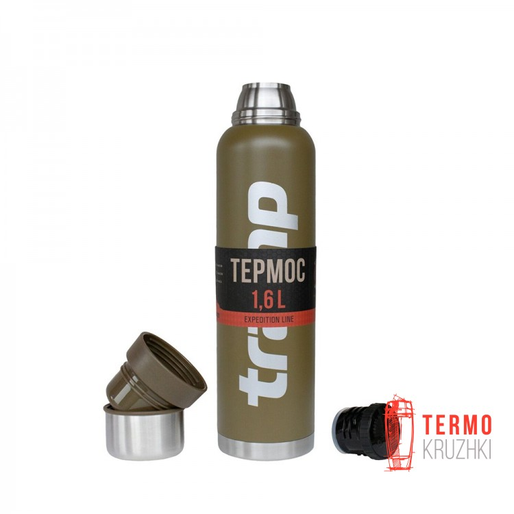 Термос Tramp Expedition Line 1,6 л оливковый