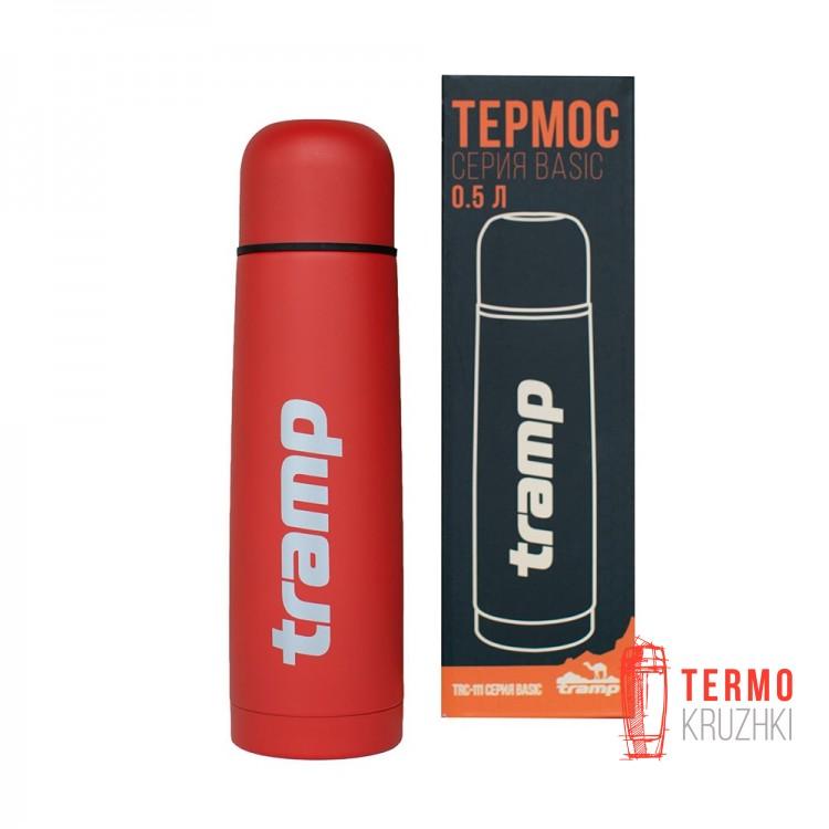 Термос Tramp Basic красный 0.5л
