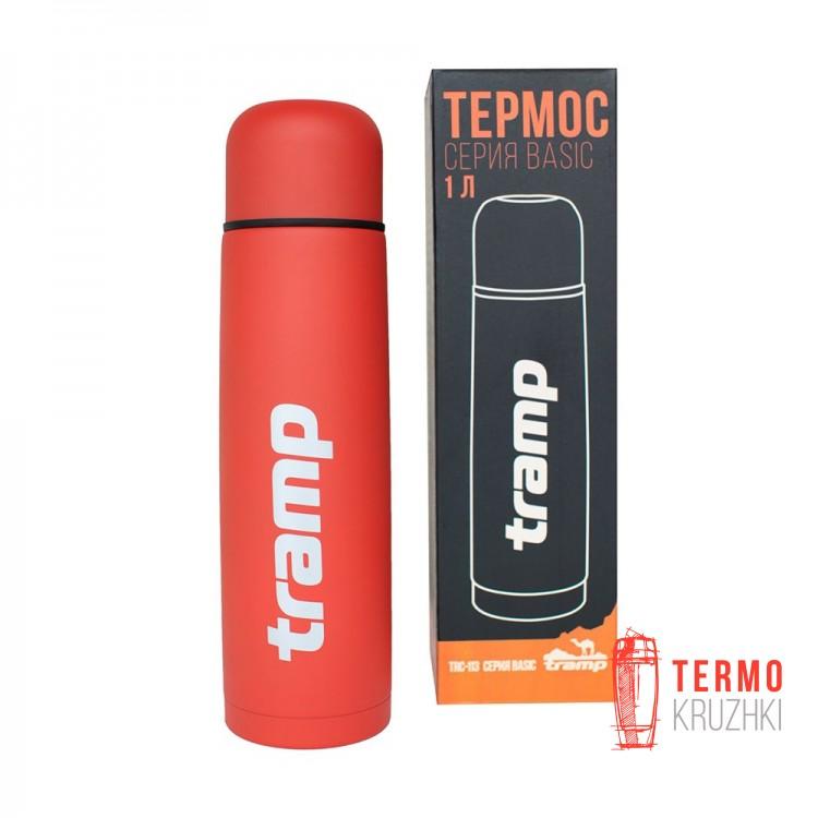 Термос Tramp Basic 1,0л красный