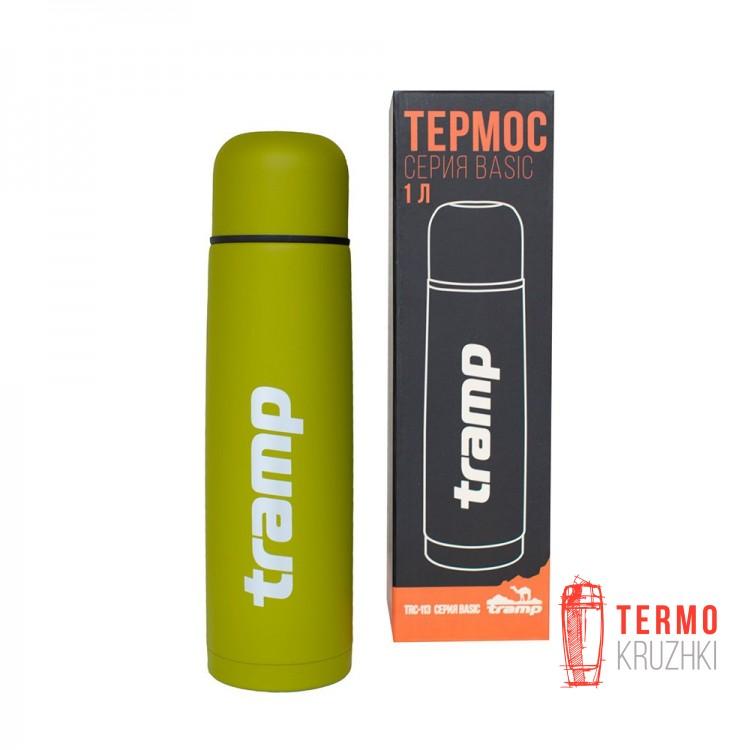 Термос Tramp Basic 1,0л олива
