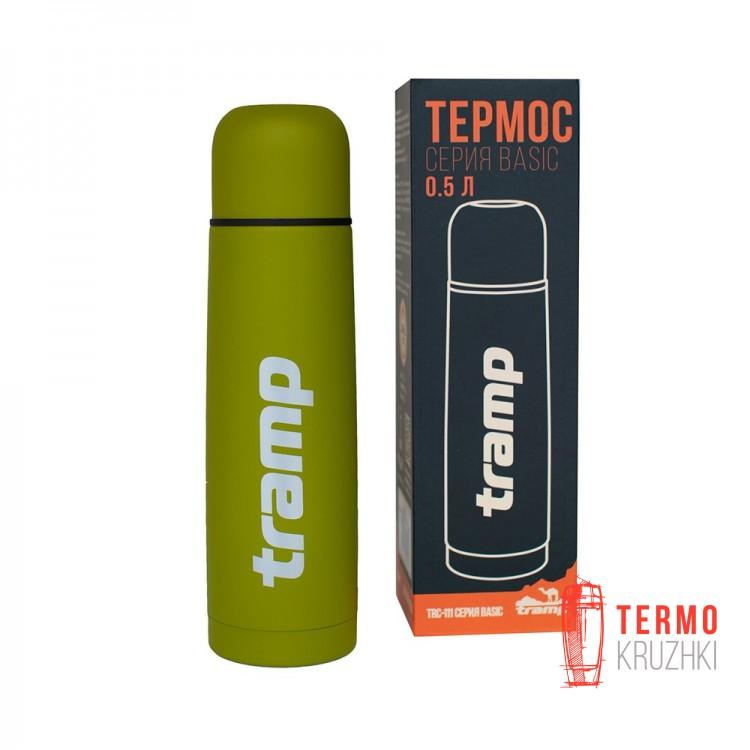 Термос Tramp Basic 0,5л олива