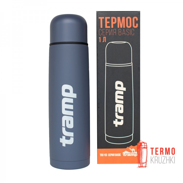 Термос Tramp Basic 1,0л серый