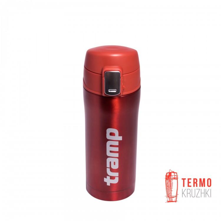 Термос Tramp 0,35 л красный металлик