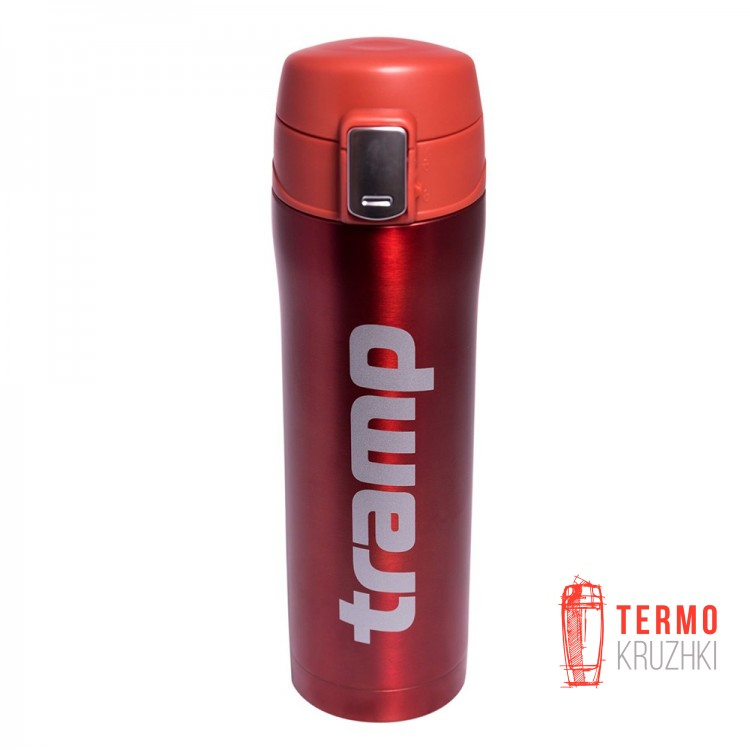 Термос Tramp 0,45 л красный металлик
