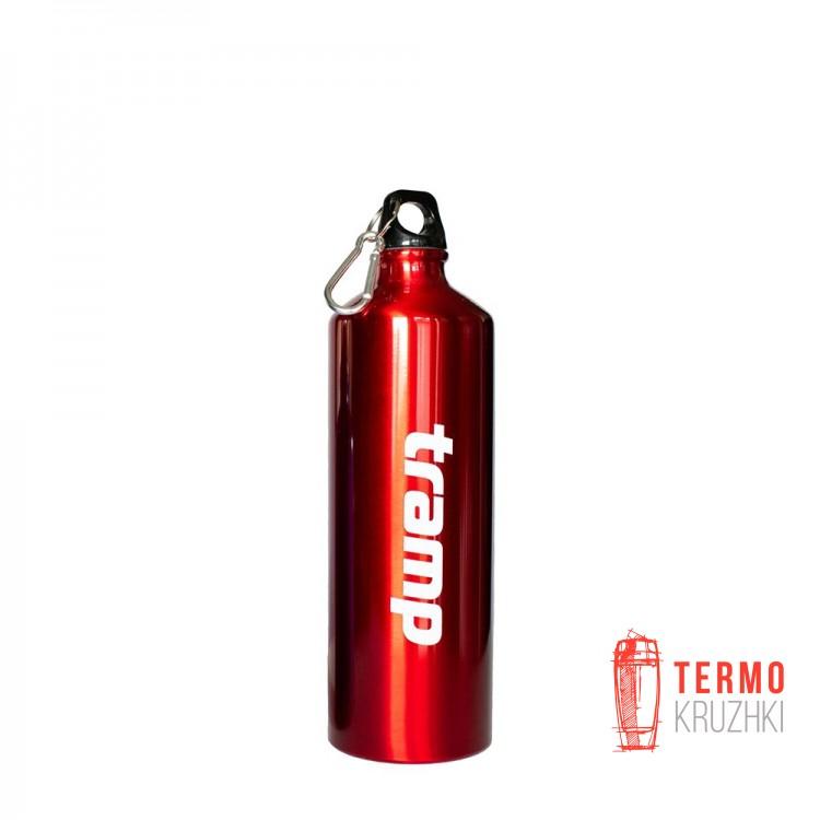 Бутылка в неопреновом чехле Tramp 1л. Красный
