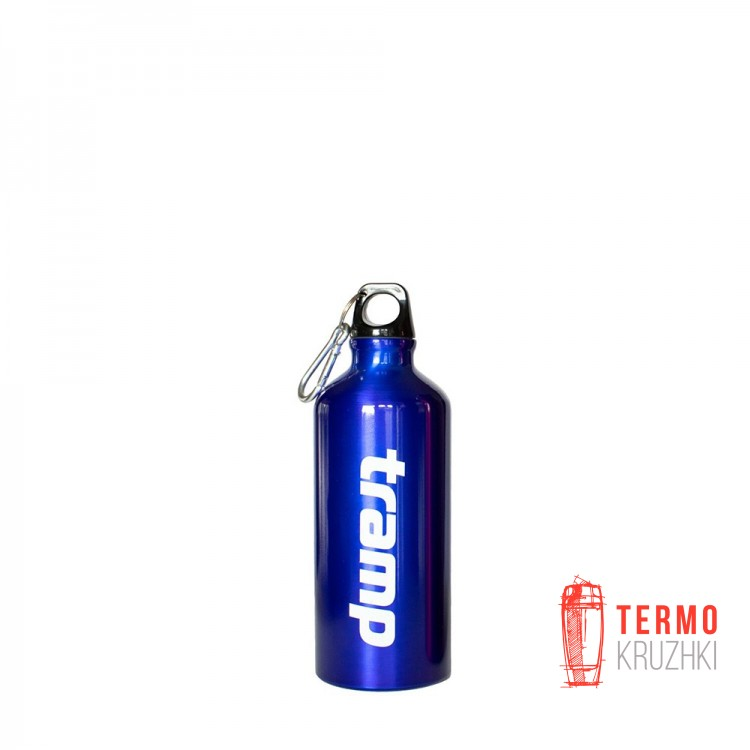 Бутылка в неопреновом чехле Tramp 0,6л. Синий