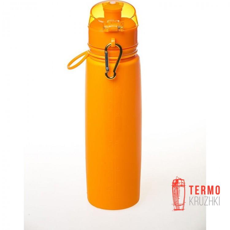 Бутылка силиконовая Tramp 700ml orange