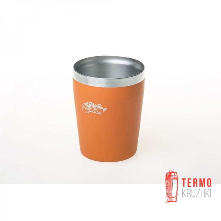 Термостакан металлический Tramp (250мл) оранжевый