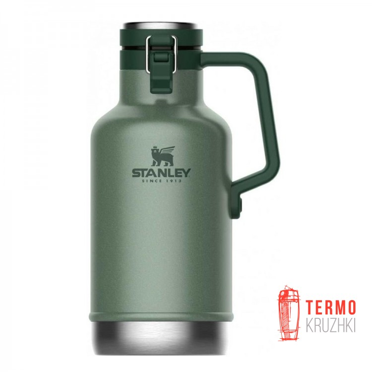 Термос для пива Stanley Easy-Pour Growler Hammertone Green 1.9 л
