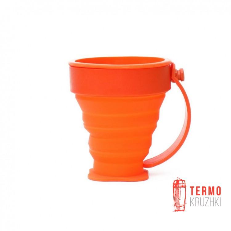 Кружка складная Rockland Silicon Mug 200 мл Оранжевая