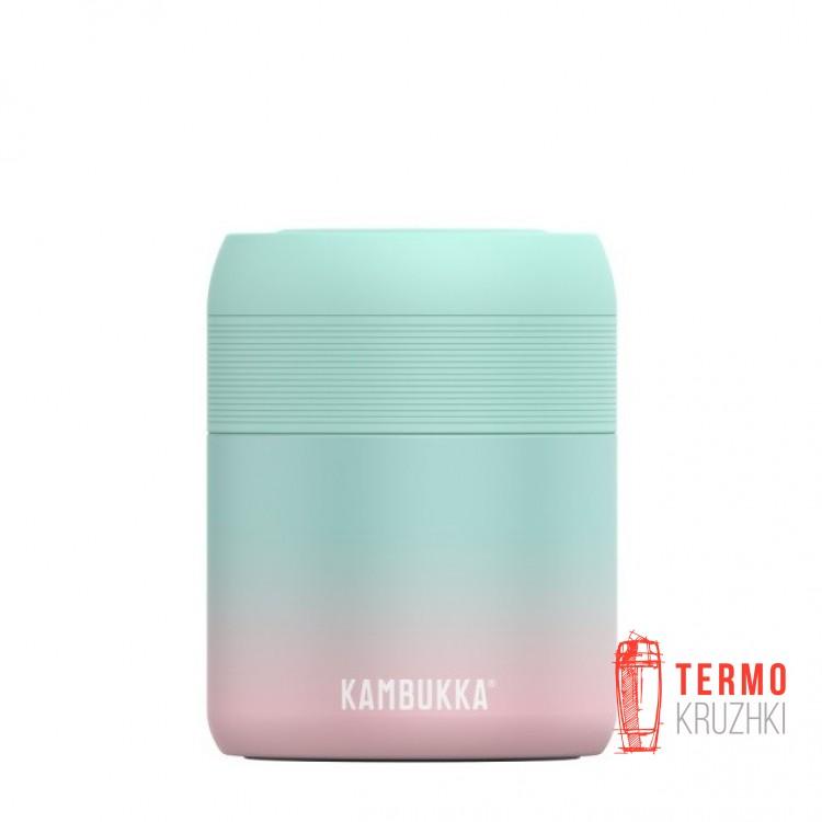 Термос для еды Kambukka Bora 600 мл Neon Mint ментоловый (11-06006)