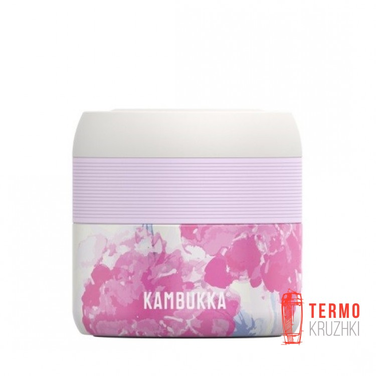 Контейнер для еды Kambukka Bora Pink Blossom 400 мл 11-06003
