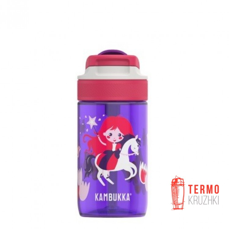 Бутылка детская Kambukka Lagoon 400 мл Magic Princess фиолетовая (11-04016)