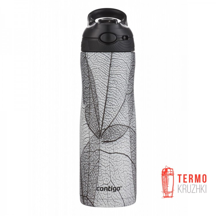 Термобутылка Contigo Ashland Chill Couture 590 мл White Leaf