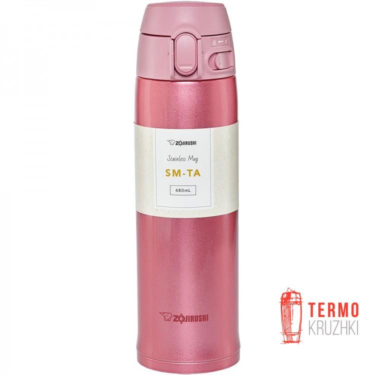 Термокружка ZOJIRUSHI SM-TA48PA 0.48 л розовый