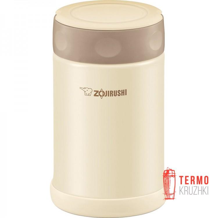 Пищевой термоконтейнер ZOJIRUSHI SW-FCE75CC 0.75 л кремовый