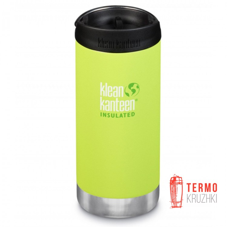 Термокружка Klean Kanteen TKWide Cafe Cap Juicy Pear 355 м