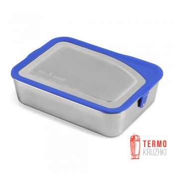 Ланч бокс стальной Klean Kanteen Food Box 1005 мл синий