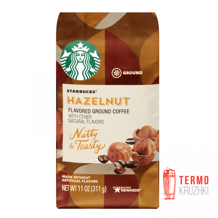 Кофе молотый Starbucks Hazelnut Medium Roast 311 г