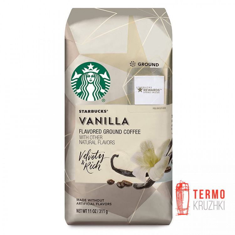 Кофе молотый Starbucks Vanilla Medium Roast 311 г