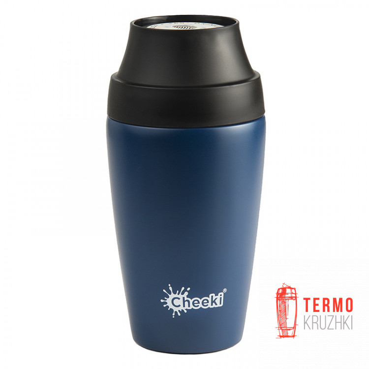 Термостакан Cheeki Coffee Mugs Leak Proof 350 ml Sapphire Blue