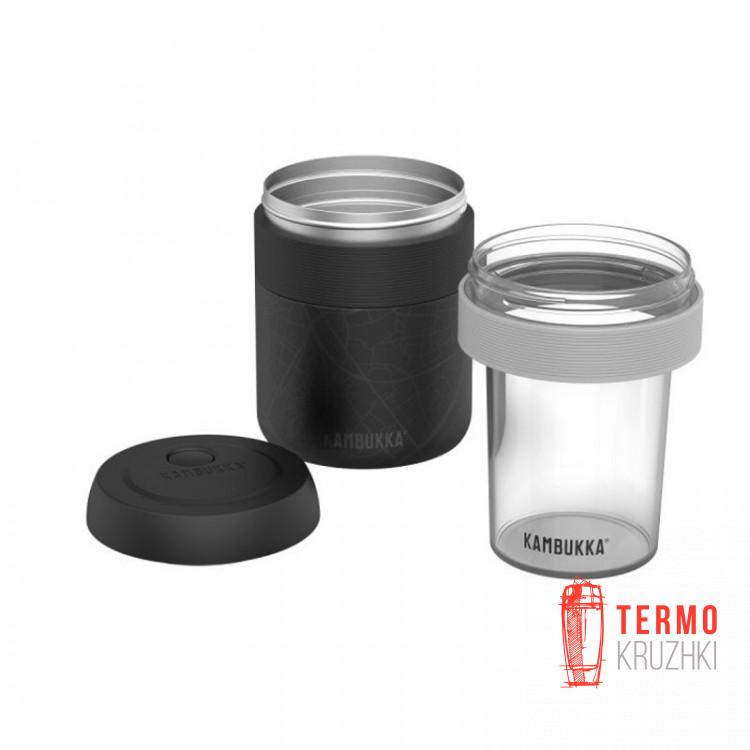Контейнер для микроволновой печи 400 мл к термосу для еды Bora 600 мл прозрачный (11-06009)