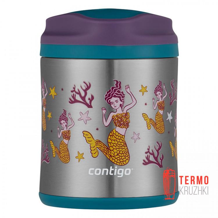 Термос для еды Contigo 300 мл Mermaids