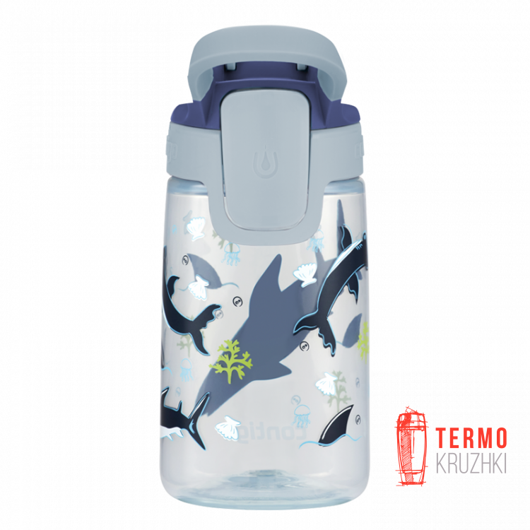 Бутылка детская Contigo Gizmo Sip 420 мл Macaroon Sharks