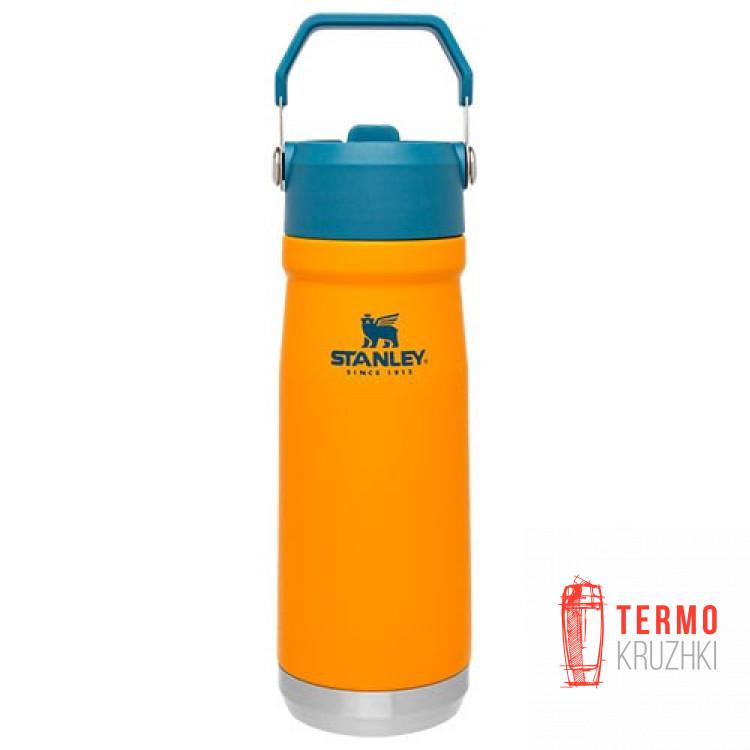 Термобутылка Stanley Go flip straw 0.65 л Saffron