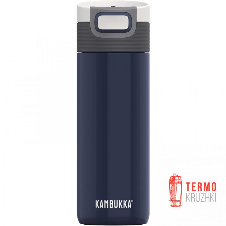 Термокружка Kambukka Etna 500 мл Denim Blue темно-синяя (11-01028)