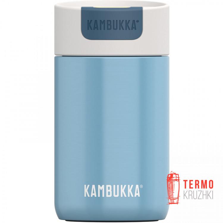 Термокружка Kambukka Olympus 300 мл Silk Blue голубая (11-02015)